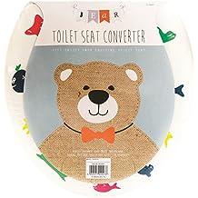 Crafty creaciones Super Cute acolchado Potty Training–Asiento para inodoro
