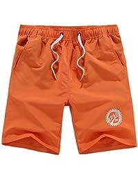 Guiran Hombre Baña De Natación Pantalones Cortos Baño Playa Shorts Con Cordón Traje De Baño 1 M