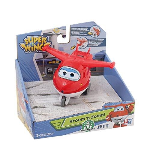 Giochi Preziosi - Super Wings Aereo Personaggio Jett, Veicolo Giocattolo a Frizione