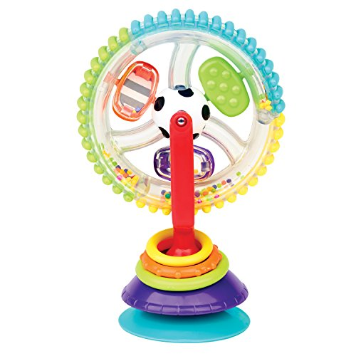 Sassy Wonder Wheel Highchair Toy 513goCeRfgL