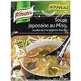 Knorr Soupe Japonaise au Miso/Nouilles et Champignons Shiitake pour 2 Portions 44 g
