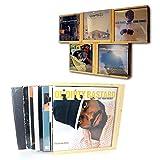 FloMi Vinyl-Schuber-Box • Schallplatten-Aufbewahrung 12+ LPs • Holz • Schallplatten Bilder-Rahmen • Made in Germany (Braun, LP 12