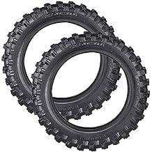 PRO CAKEN 2X Rueda para motocross todoterreno DirtBike 2.50-10 delantera o trasera suave/