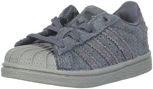 Adidas Originals Superstar scarpe da ginnastica da ragazzo Grigio 39 1/3 EU