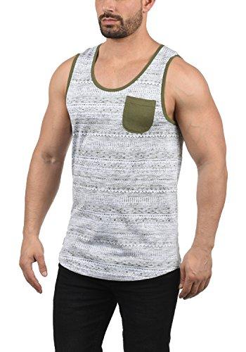 !Solid Imbre Herren Tank-Top Mit Rundhalsausschnitt Aus 100% Baumwolle Regular Fit, Größe:L, Farbe:Ivy Green (3797) -
