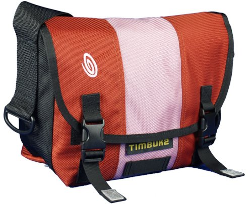 Timbuk2 Classic Messenger Bag, Burnt Orange/Rose/Burnt Orange, XS (Timbuk2 Laptop Messenger)