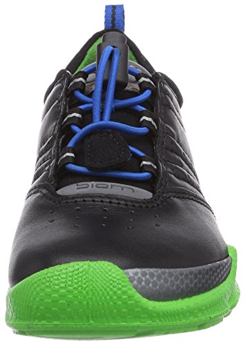 Ecco Biom Train, Chaussures de running garçon Noir (Black/Green Flash Fea)