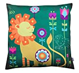 Air Castle- Home Decore- Polyester & Polyester Blend- Leo Cushion Cover best price on Amazon @ Rs. 706
