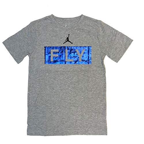 Nike Air Jordan Big Boys 8-20 Short-Sleeve Fly Screen Print Tee -