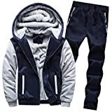 DNOQN Männer Jacke Winter Pullover Herren Jacken Online Hoodie Winter Warm Fleece Zipper Sweater...