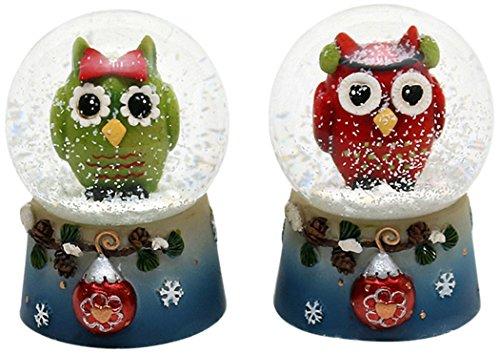 ule Sortiert Snow Globe, 4,5x 6,5cm, Mehrfarbig ()