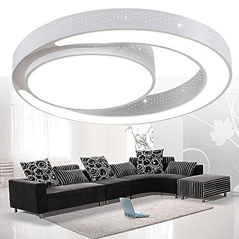 ancernow intelligent d'intensité Creative Simple plafonnier LED lampe couleur changeabl circulaire pour chambre, salon, chambre, chambre d'enfant, couloir, Hôtel
