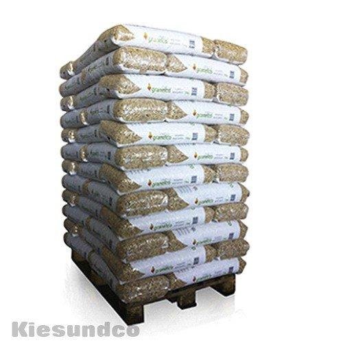 Preisvergleich Produktbild Holzpellets 70 x 15kg 6mm DIN Plus volle Palette - Kaminpellets Heiz Pellet - ohne Bindemittel & chemischen Zusätzen