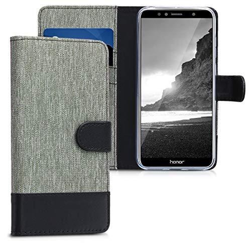 kwmobile Huawei Honor 7A Hülle - Kunstleder Wallet Case für Huawei Honor 7A mit Kartenfächern und Stand