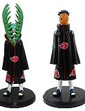 NEU Hot Ausverkauf 2 Stk/Set Anime Figur PVC Spielsachen Naruto Akatsuki Zetsu Uchiha Madara 19cm Sammlerstück Kinder Spielsachen Geschenke