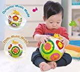 Best 1year Old Girl Toys - smartcraft Educational Toddlers Musical Ball Toy with Automatic Review