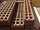 Spalier behandelt in Dunkelbraun Preserver, strapazierfähige hergestellt für in den Garten, holz, braun, 6ftx4ft