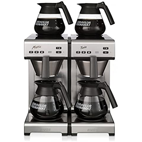Bravilor Matic Twin, caffè eismaxx un'ampia nell'acqua con 4 bidoni - Nuovo Design