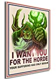 Instabuy Poster Gul'Dan I Want You World of Warcraft - A3 (42x30 cm)