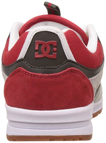 DC Shoes Kalis Lite - Baskets Pour Homme ADYS100291 Grey Red White