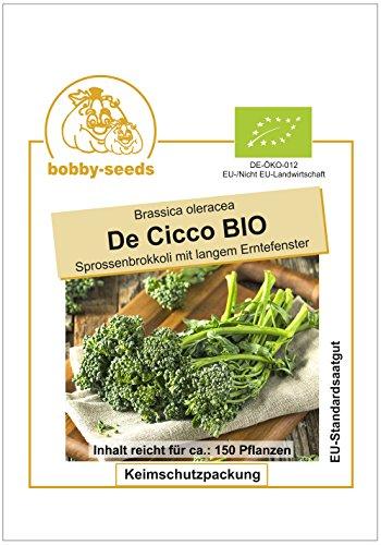 Bobby-Seeds BIO-Kohlsamen Stängelbrokkoli De Cicco Portion