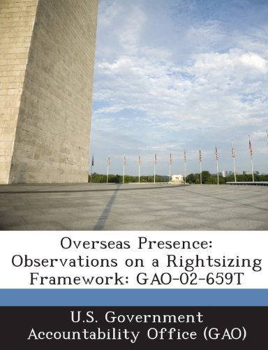 Overseas Presence: Observations on a Rightsizing Framework: Gao-02-659t