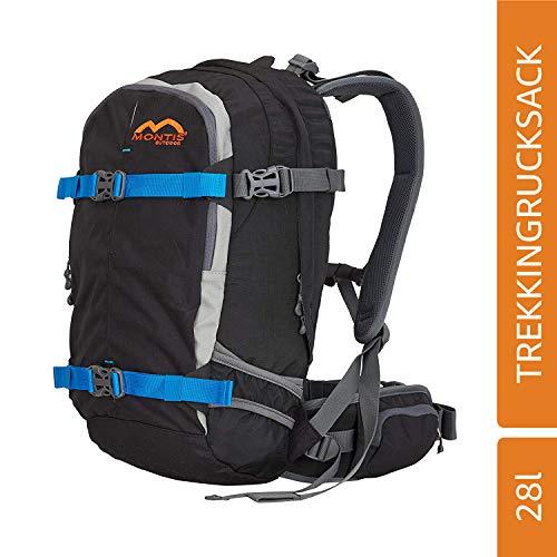 MONTIS PRORIDE 28, Protektor Rucksack, 28L, 53x26, 1450g (Schwarz)