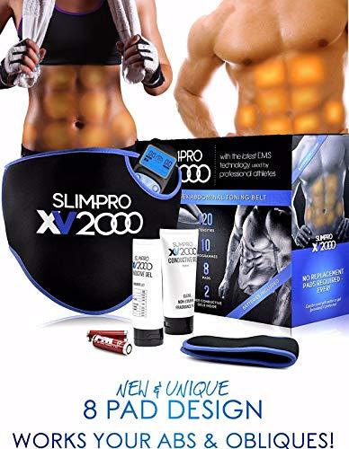Homefront Slim-Pro XV2000 Ab Toning Belt For Slender Toned Stomach