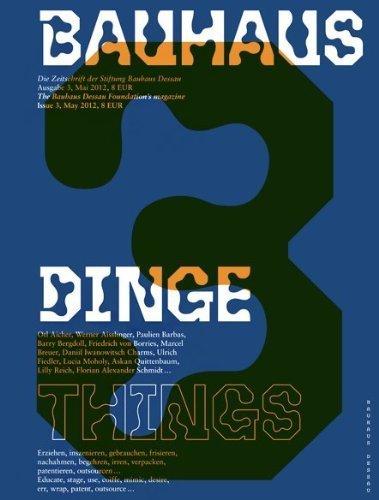 Bauhaus N3: Things (Bauhaus Magazine) by Christiane Lange (2013) Paperback