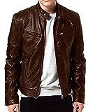 #4: MooZoh Men's Faux Leather Jacket