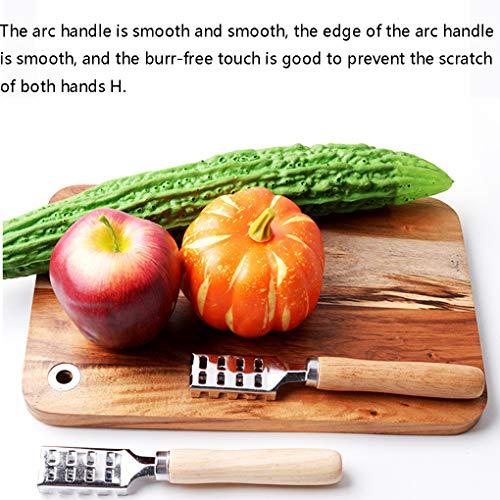 Preisvergleich Produktbild Flushzing Fisch-Haut-Skala Schaber Reiniger Edelstahl Peeler Scaler Remover-Reinigungsbürste Küche-Meeresfrüchte Werkzeuge