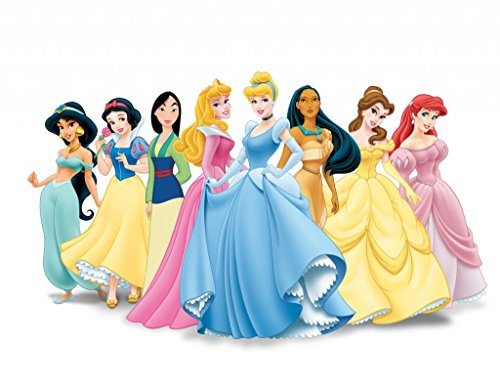 DISNEY - PRINCESSES - US Imported Movie Wall Poster Print - 30CM X 43CM Cinderella Belle Ariel Snow White - Ariel Album