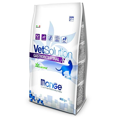 Monge Veterinary Solution Gatto Gastrointestinal GR. 400 Cibo Gatti, Multicolore, Unica