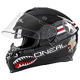 O'Neal Challenger Wingman Street Motorrad Helm Roller Scooter Fidlock Sonnenblende