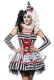 Harlequin Harlekin Kostüm-Set, 4-teilig, GR XS-M One Size