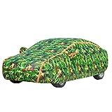 CCGG BMW Auto Multi-Modell Autokleidung Wasserdicht Anti-UV-Isolierung Autokleidung Abdeckung (gelbe Tarnung Grün Tarnung) (Farbe : Green Camouflage, größe : M2)