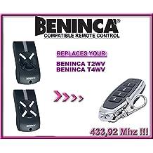 Beninca CUPIDO Compatibile Telecomando BENINCA TOGO 4-canali 433,92Mhz rolling code sostituzione radiocomando T4WV Beninca IO Di alta qualità telecomando sostituto T2WV