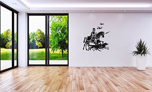 sticker-mural-odin-sur-sleipnir-avec-ses-corbeaux