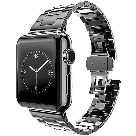 TIANKAI cinturino orologio in acciaio inox per connettore della scheda di fascia di metallo orologio (Regolatore Connettore)