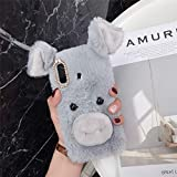 ZYQ Gray Lucky Pig Protector TPU Silicone Skin Etui Case