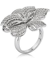 Shaze Floral Mesh Party Fashion Ring for Women/Girls Rings for Women Ring for Girlfriend