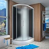 AcquaVapore QUICK16-7310L Dusche Duschtempel Komplette Duschkabine 120x80, EasyClean Versiegelung der Scheiben:2K Scheiben Versiegelung +79.-EUR