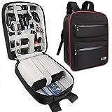 BUBM Kopfhörer Game Bag Rucksack, Travel Gear Tragetasche Schutzhülle für PS4Pro Game Konsole und Zubehör, leicht und hohe Kapazität, passt für PS4, PS4Slim, PS4Pro, Xbox, Xbox One S