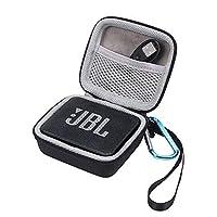 JBL GO 2 Case EVA Hard Case for JBL GO 2 Portable Wireless Bluetooth Speaker - Travel Protective Carrying Storage Bag