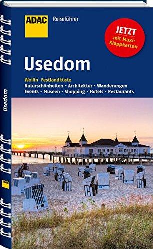 Preisvergleich Produktbild ADAC Reiseführer Usedom: Wollin Festlandküste