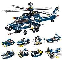 ANGLE Militar Juego tormenta Armada Ocho Modelos de un Rompecabezas montado Bloques de construcción Modelo DIY Boy cumpleaños Juguete de Regalo