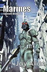 Marines (Crimson Worlds Book 1) (English Edition)
