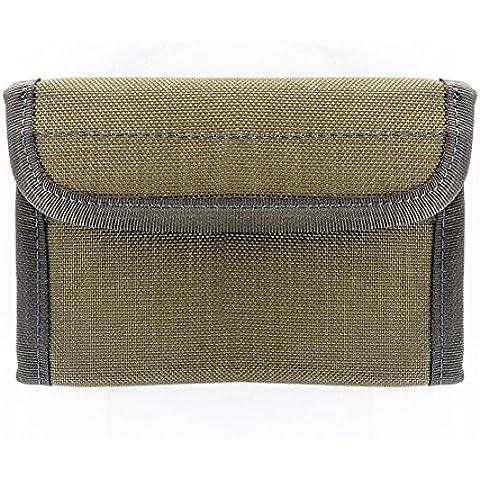 YAKEDA® Al aire libre táctico avanzado de la carpeta, caso de la tarjeta monedero, tarjeta de crédito protector, monedero,