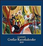 Kunstkalender 2019, DuMonts Großer Kunstkalender, Wandkalender Format 44,5 x 48 cm