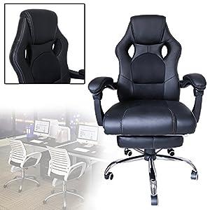 513hA5qrrYL. SS300  - huigou-HG-Silla-Giratoria-De-Oficina-Gaming-Chair-Apoyabrazos-Acolchados-Premium-Comfort-Silla-Racing-De-Carga-Altura-Ajustable